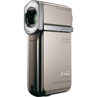 Sony HDR-TG5V HD Handycam Silver Camcorder with Built-in GPS Receiver