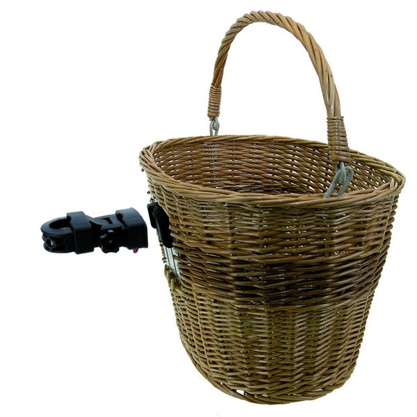 Quick Release Wicker Basket