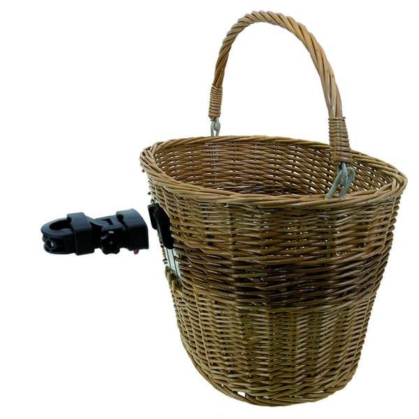 Quick Release Wicker Basket