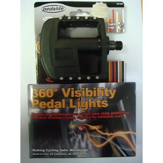 360-degree Visibility Pedal Lights POS