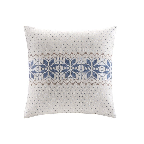 Woolrich Deep River Bromley Print Square Accent Pillow