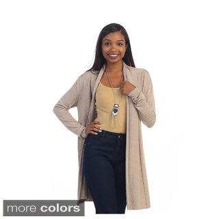Hadari Women's Casual Long Sleeve Open Cardigan