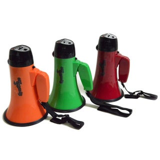 Sports Pro Professional 15-watt Megaphone with Siren and Handheld Mic