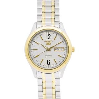 Seiko Men's 5 Series SNKM58 Two-tone Stainless Steel Watch