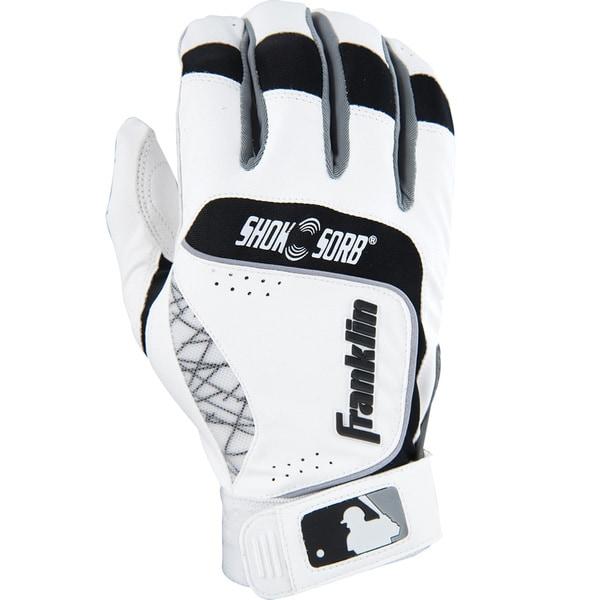 Franklin Sports Adult Shok-sorb Neo Batting Gloves