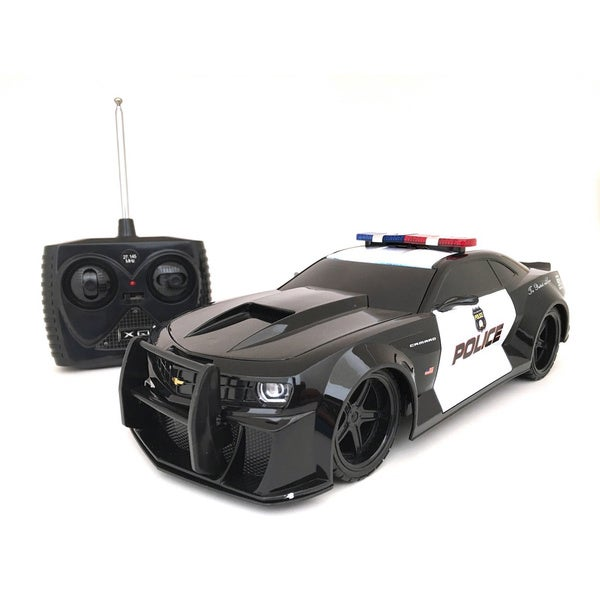 Chevy Camaro Remote Control 1:18-scale Police Car