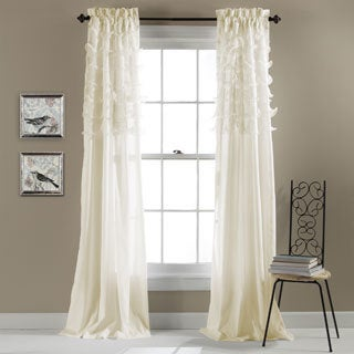 Lush Decor Avery Curtain Panel Pair