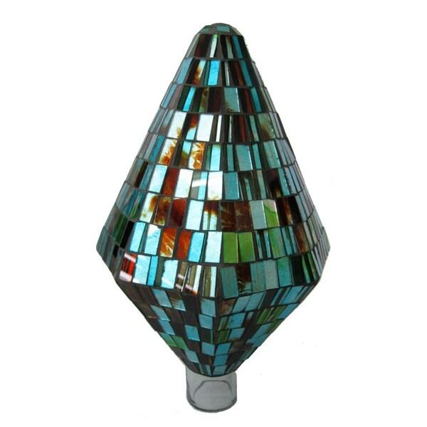 Turquoise Copper Diamond Shaped Gazing Globe