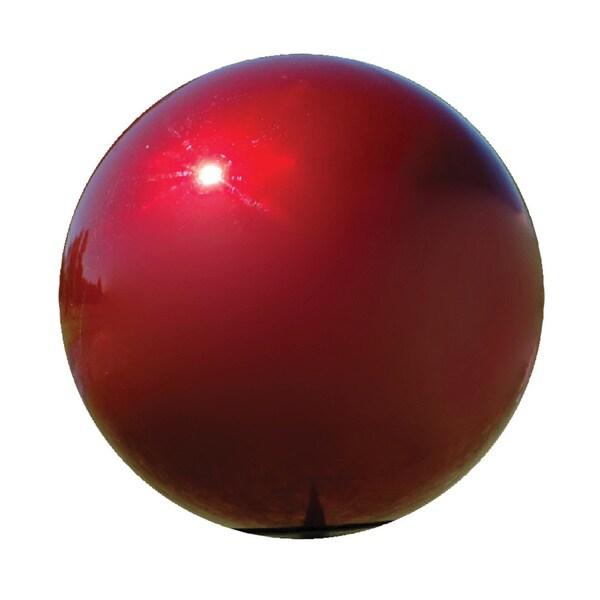 10-inch Red Gazing Globe