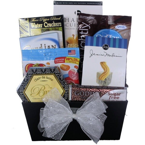 Christmas Joy Sugar-free Holiday Gift Basket