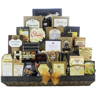 The Holiday VIP Gourmet Christmas Gift Basket