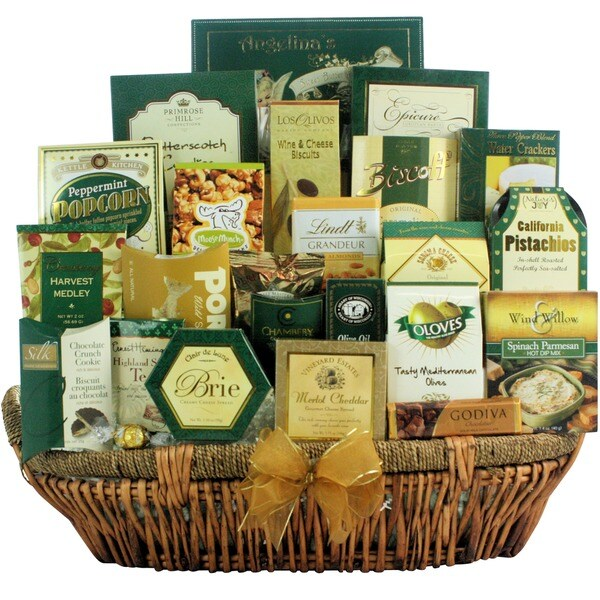 Holiday Gallant Affair Gourmet Holiday Christmas Gift Basket