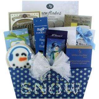 Winter Wonderland Gourmet Holiday Gift Basket