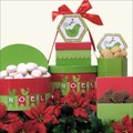 Birds d'Noel Holiday Christmas Gift Tower
