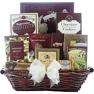 Holiday Traditions Gourmet Christmas Gift Basket