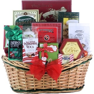 Tis the Season Medium Gourmet Holiday Christmas Gift Basket