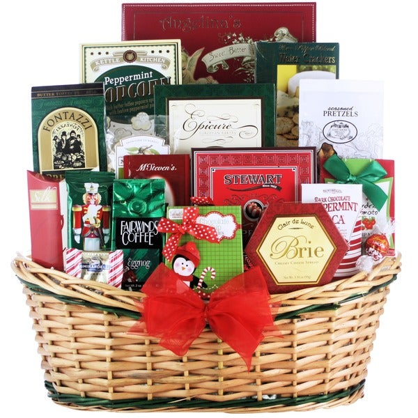 Tis the Season Large Gourmet Holiday Christmas Gift Basket