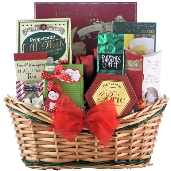 Tis the Season Small Gourmet Holiday Christmas Gift Basket
