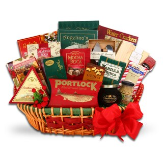 Bountiful Holiday Gourmet Gift Basket