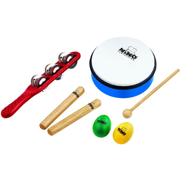 Nino Percussion NINOSET3 Hand Percussion Rhythm Set
