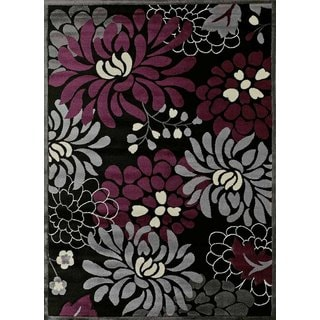 Urban Trends Maya Plum Area Rug (7'10 x 10'6)