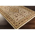 Meticulously Woven Hagan Traditional Border Area Rug (2' x 3'3)
