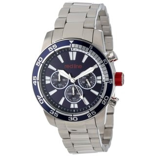 Red Line Men's RL-60007 Cruiser Navy Blue Watch