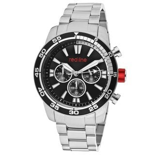 Red Line Men's RL-60006 Cruiser Black and White I Watch