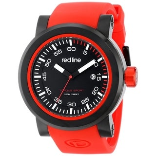Red Line Men's RL-50049-BB-01-RDS Torque Black Watch