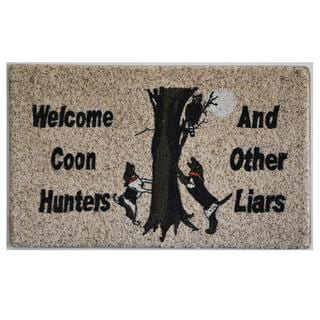 "Coon Hunters Indoor Mat (18"" x 27"")"