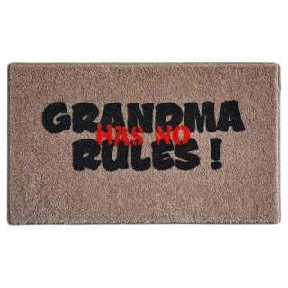 "Grandma Rules Indoor Mat (18"" x 27"")"