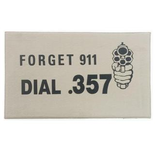 "Forget 911 Indoor Mat (18"" x 27"" )"