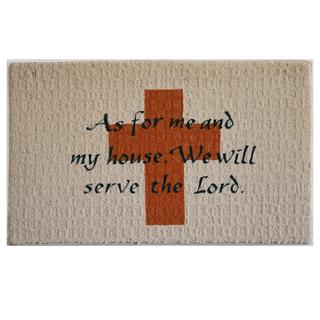"Serve the Lord Indoor Mat (18"" x 27"")"