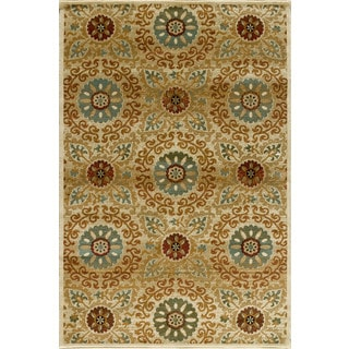 Christopher Knight Home Encore Sienna 041 Adonia Cream Area Rug (7'10 x 9'10)