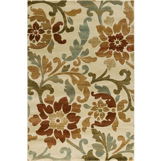 Christopher Knight Home Encore Sienna 041 Delphine Cream Area Rug (7'10 x 9'10)