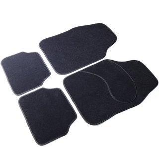 Adeco 4-piece Black Vehicle Floor Mats