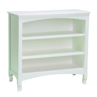 Emma White 3-shelf Low Bookcase