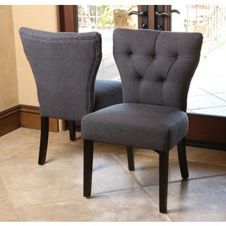 Abbyson Living Bennet Tufted Dining Chair (Set of 2)