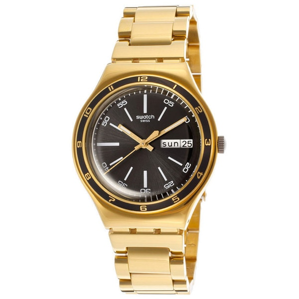 Swatch Men's 'Irony' Gold plated steel Watch