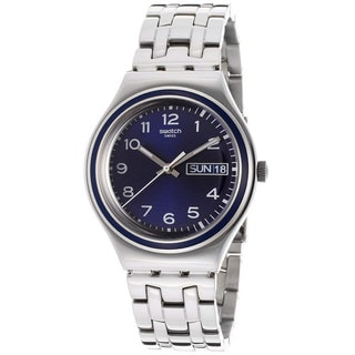 Swatch Men's 'Blue Influence' Stainless Watch