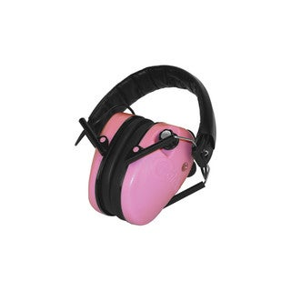 E-Max Low Profile Electronic Pink Hearing Protection 23 NRR