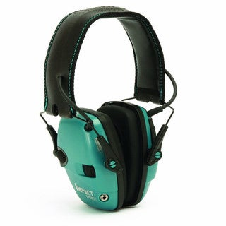 Howard Leight Impact Sport Teal Electronic Earmuffs