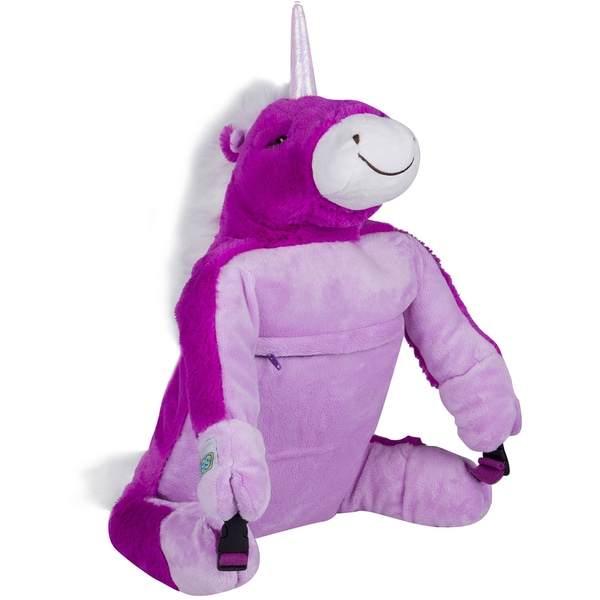 Wildkin Unicorn Kids' Luggable Plush Backpack