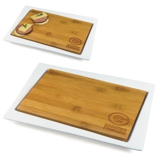 NFL Enigma Arizona Cardinals Laser Engraved Cutting Board Set