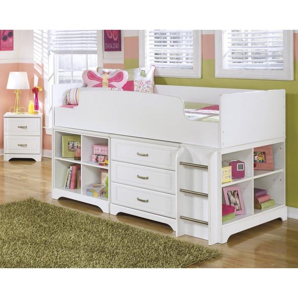 Lulu Twin Loft Bed With Storage
