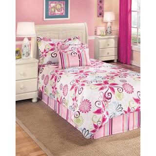 Signature Design by Ashley Flower Power Petal 6-piece Comforter Set