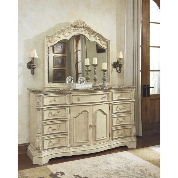 signature design by ashley ortanique light opulent dresser