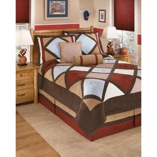 Signature Design by Ashley Academy Multi-color Comforter Set
