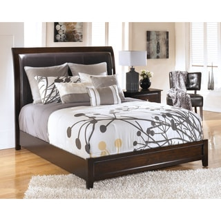 Signature Design by Ashley Templenz Brown Upholstered Bed