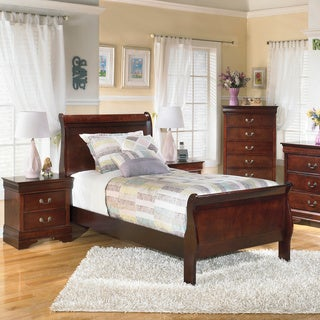 Signature Design by Ashley Alisdair Brown Sleigh Bed Set